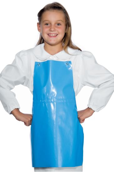 Baby apron - Isacco Light Blue