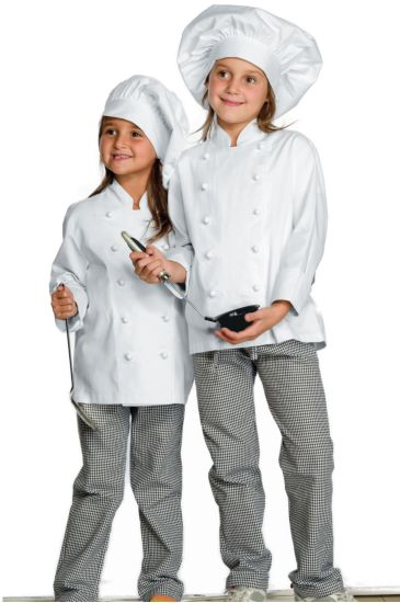 Baby chef trousers - Isacco Houndstooth