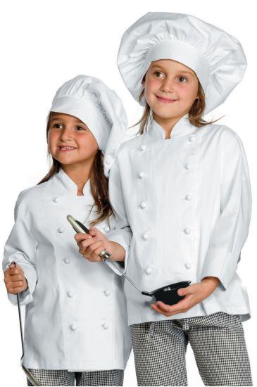 Baby chef jacket - Isacco Bianco