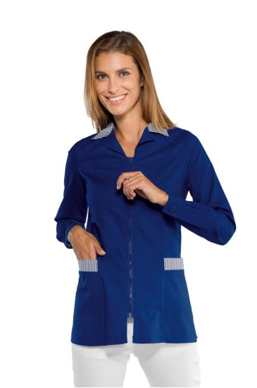 Barcellona blouse - Isacco Blue+striped Blue