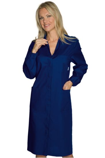 Accident prevention woman gown - Isacco Blu