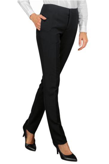 Capri woman trousers - Isacco Nero
