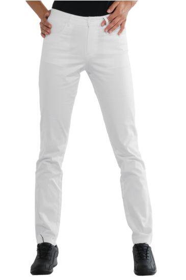 Margarita woman trousers - Isacco Bianco