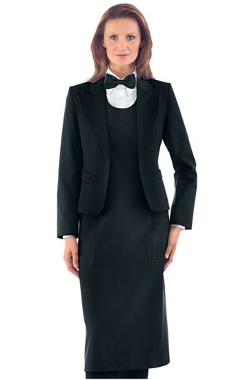 Woman Sommelier Spencer with lining - Isacco Nero