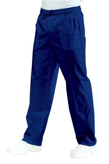 Pantalone con elastico - Isacco Blu