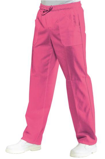 Pantalone con elastico - Isacco Fuxia