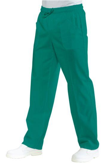Pantalone con elastico - Isacco Verde