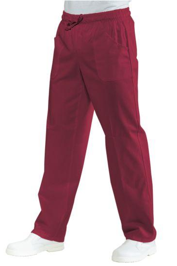 Pantalone con elastico - Isacco Bordeaux