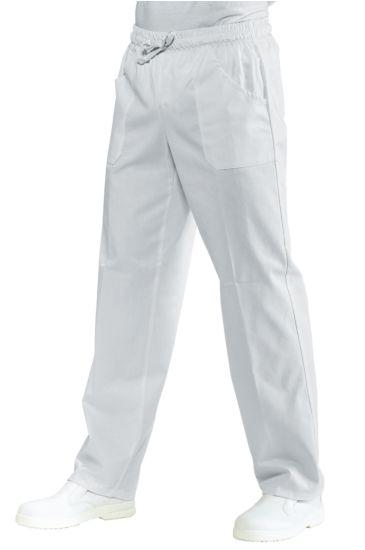 Pantalone con elastico - Isacco Bianco
