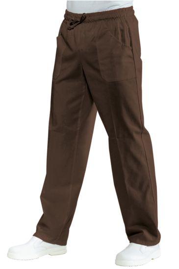 Pantalone con elastico - Isacco Cacao