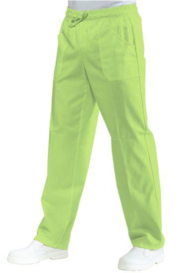 Pantalone con elastico - Isacco Verde Mela