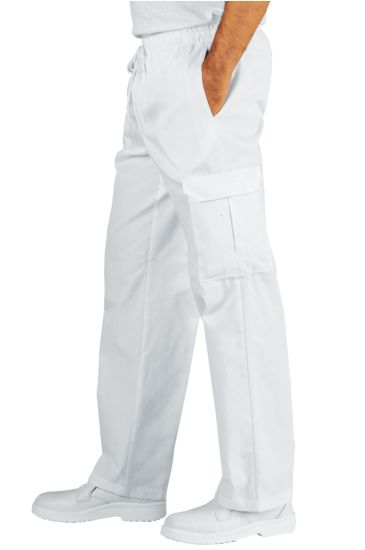 Chef trousers - Isacco Bianco
