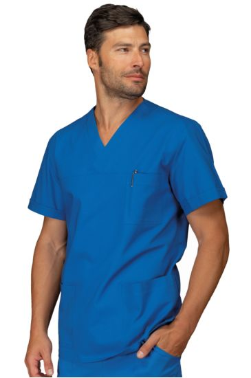 Casacca Collo a V Manica Lunga - Isacco Azzurro Ospedale