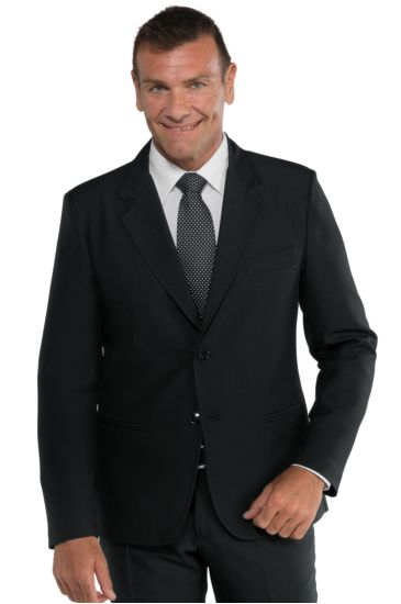 2 buttons jacket for men - Isacco Nero