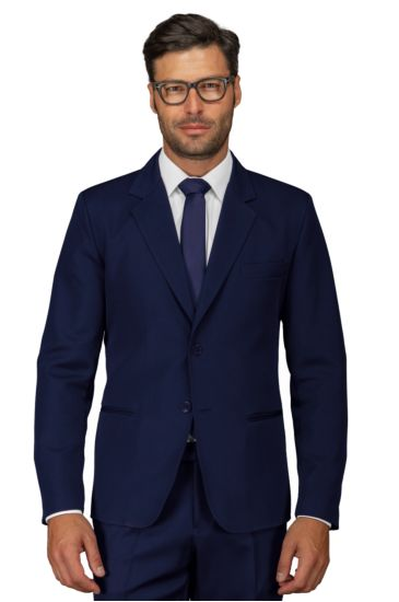 2 buttons jacket for men - Isacco Blu