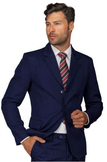 3 buttons jacket for men - Isacco Blu