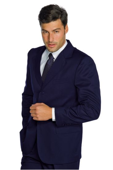 3 buttons lined jacket for men - Isacco Blu