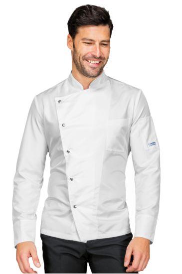 Giacca cuoco Belfast - Isacco Bianco