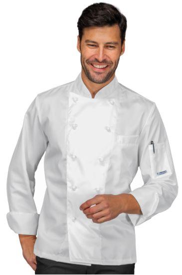 Alabama chef jacket - Isacco Bianco