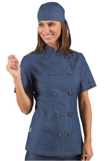Giacca Lady Chef bottoni antipanico - Isacco Jeans