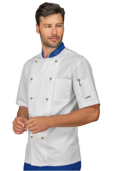 Giacca cuoco Profilata - Isacco Euro+italy