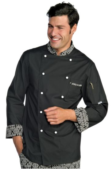 Bicolored chef jacket - Isacco Maori 91