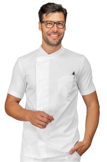 Giacca cuoco Franklin - Isacco Bianco