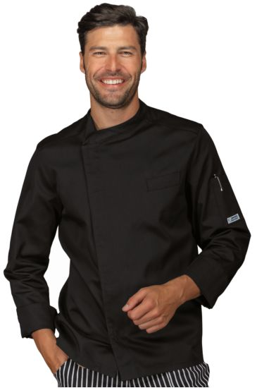 Bilbao chef jacket - Isacco Nero