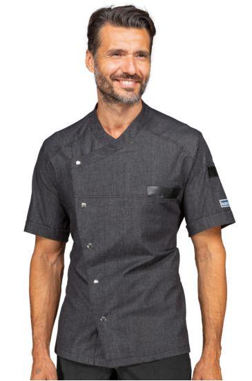 Giacca cuoco Erickson - Isacco Black Jeans
