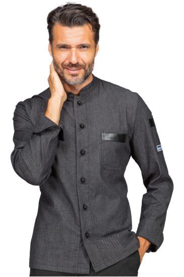 Giacca cuoco Koen - Isacco Black Jeans