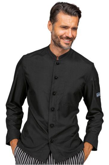 Giacca cuoco Koen - Isacco Nero