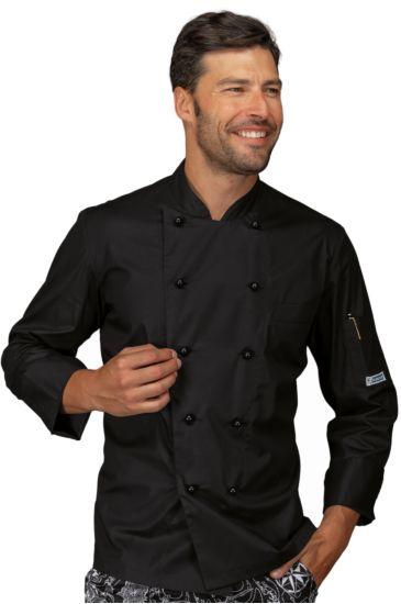 Giacca Cuoco Alabama - Isacco Nero