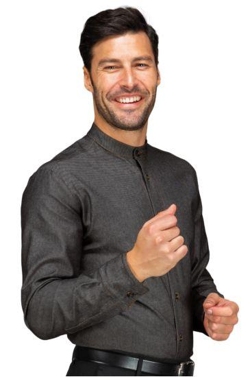 Camicia Unisex Detroit Stretch - Isacco Black Jeans