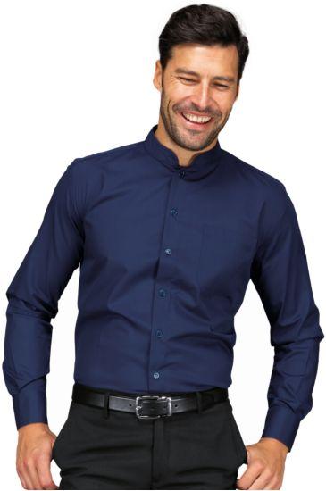 Camicia Unisex Dublino - Isacco Blu