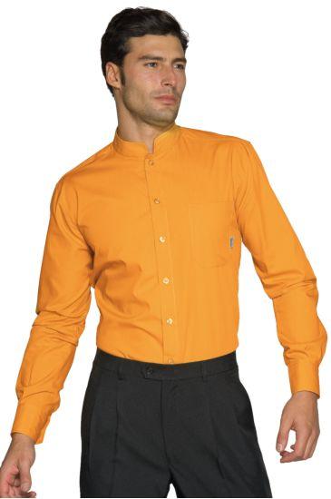 Dublino unisex shirt - Isacco Apricot