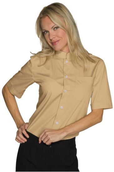Dublino unisex shirt - Isacco Biscuit Colour