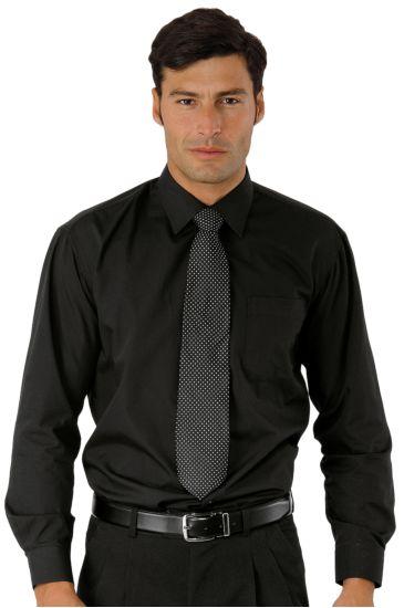 Camicia Unisex - Isacco Nero