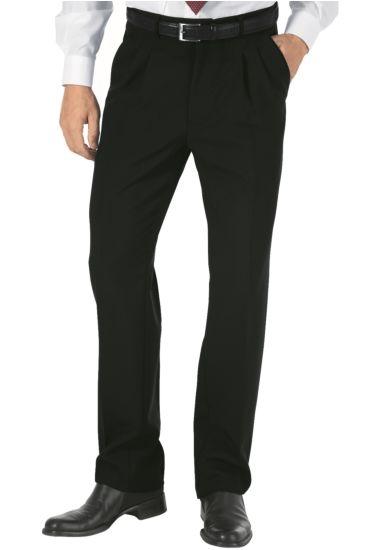 Pantalone Uomo 2 Pinces - Isacco Nero