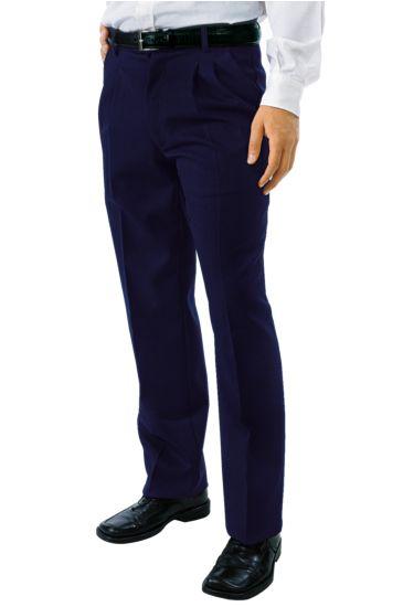 Pantalone Uomo 2 Pinces - Isacco Blu