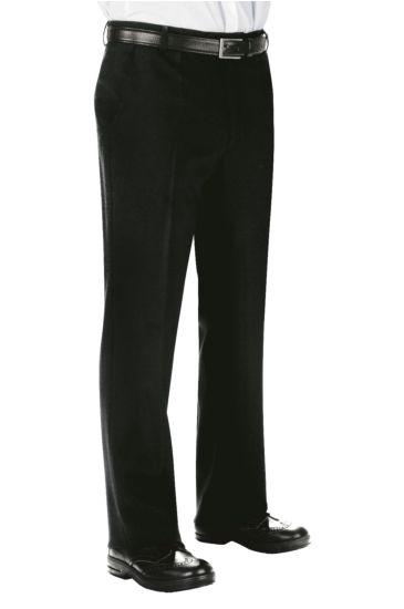 Pantalone Uomo senza Pinces - Isacco Nero