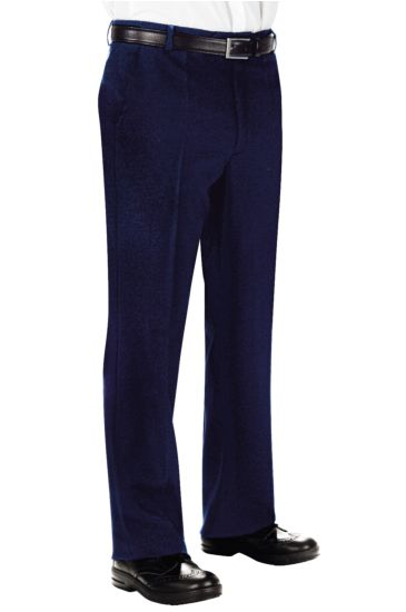Pantalone Uomo senza Pinces - Isacco Blu