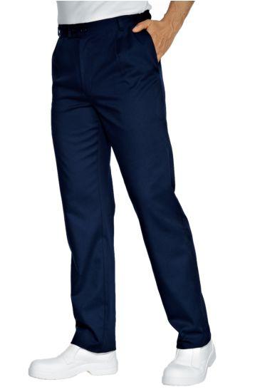 Job trousers - Isacco Blu
