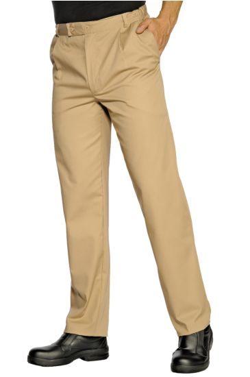 Job trousers - Isacco Biscuit Colour