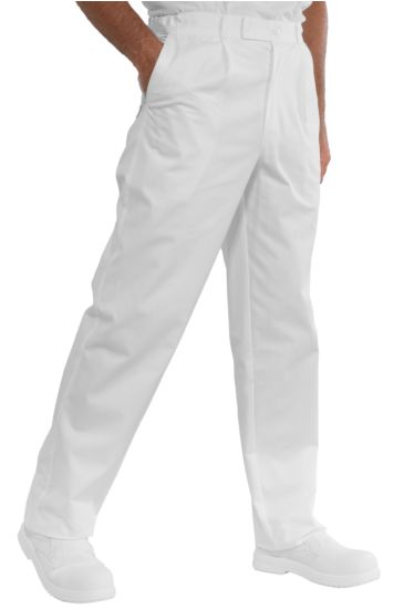 Job trousers - Isacco Bianco
