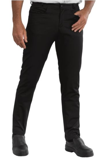 Yale slim trousers - Isacco Nero