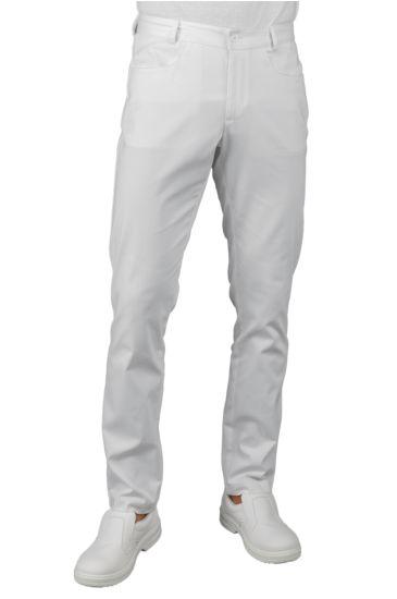 Yale slim trousers - Isacco Bianco