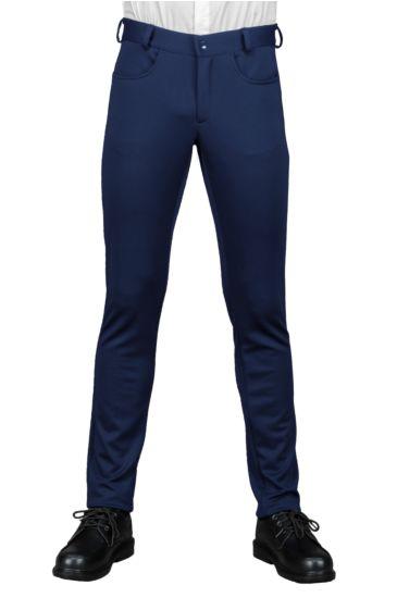 Yale slim trousers - Isacco Blu