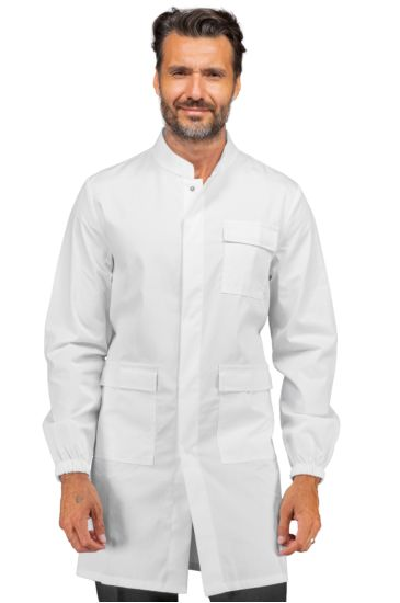 Unisex acid-proof Certified CE gown - Isacco Bianco