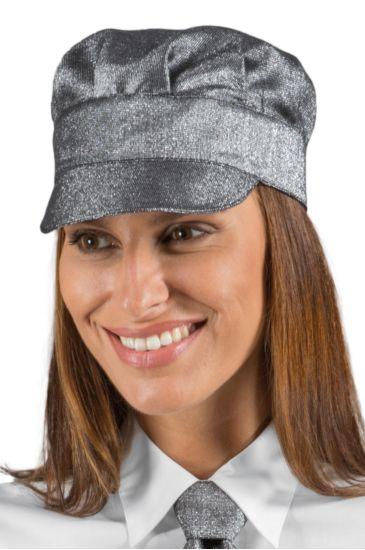 Cappello Sam - Isacco Lurex Silver