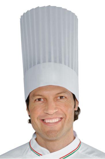Cappello Cuoco TNT Cm 30 (10 pezzi) Bianco